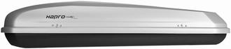 Hapro Roady 450 Zilver  420 ltr. mat zilver grijs