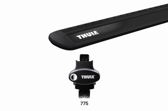 Dakdragerset Thule Rapid Crossroad 775 met WingBar Evo Black
