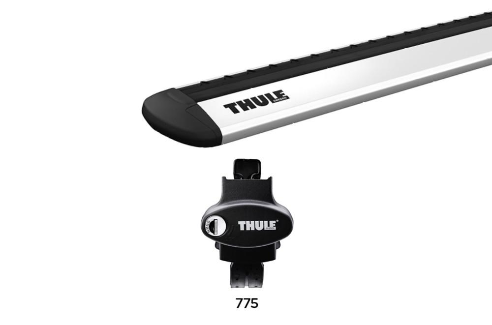 Dakdragerset Thule Rapid Crossroad 775 met WingBar Evo