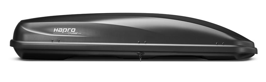 Dakkoffer Hapro Cruiser 10.8 Anthracite