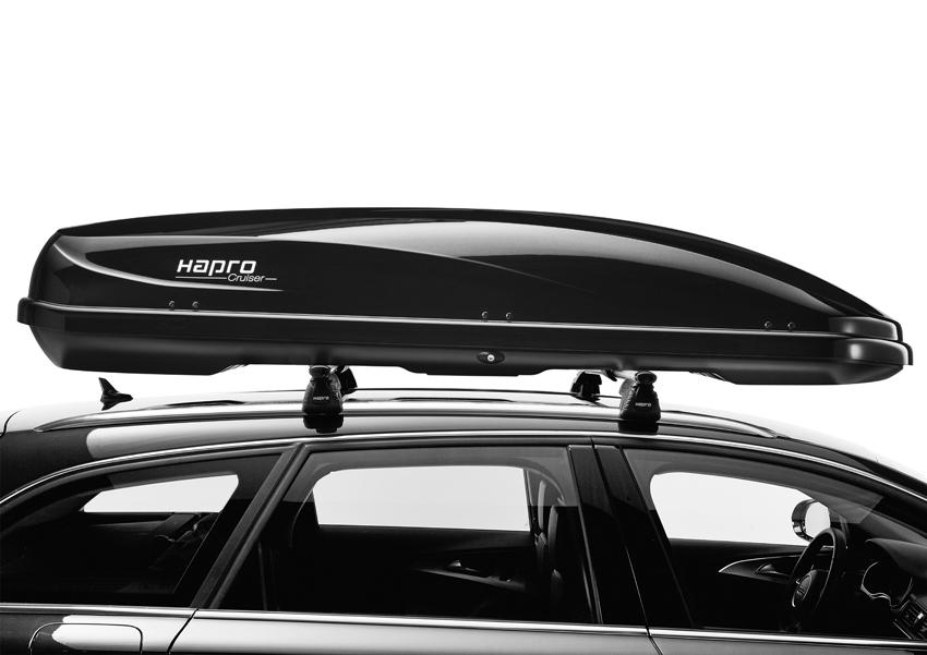 Dakkoffer Hapro Cruiser 10.8 Brilliant Black