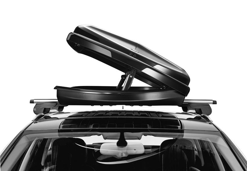 Dakkoffer Hapro Nordic 10.8 Brilliant Black