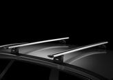 Verhuur dakdragers voor auto's met een T-gleuf in het dak